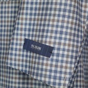 Pal Zileri Suits & Blazers - Pal Zileri Full Canvas Blue Gray Wool Sport Coat